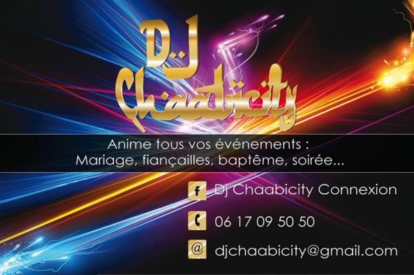 Connu Nouvelle carte de visite | DJ Oriental Paris MV58