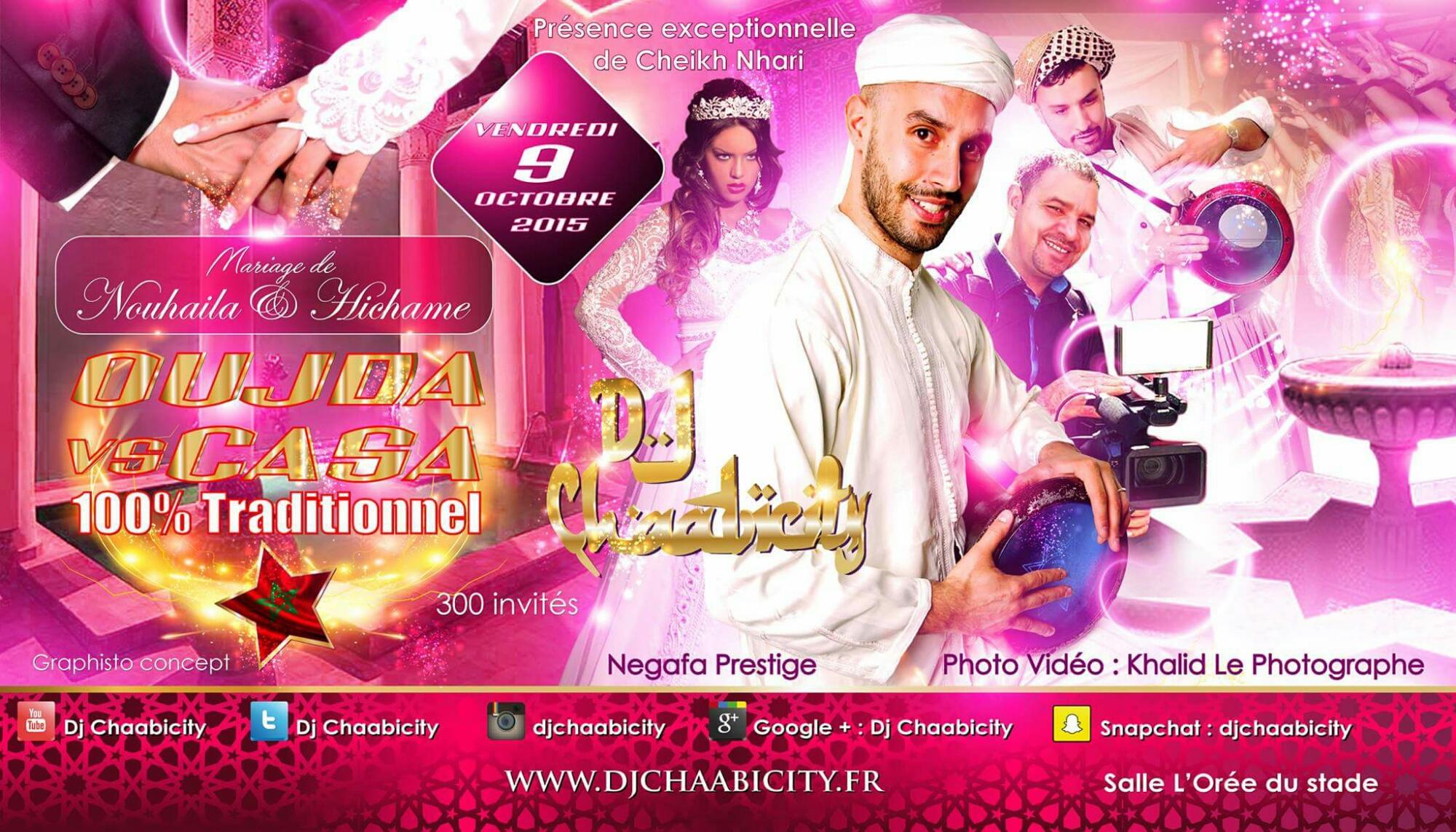 Mariage 100 marocain oujda vs casa dj oriental paris - Salon du mariage oriental 2015 paris ...