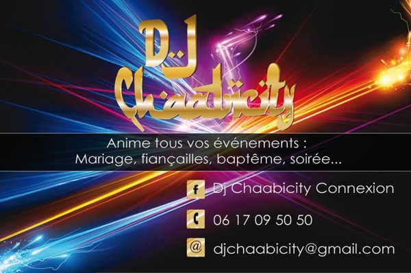 DJ MARIAGE ORIENTAL MIXTE PARIS Nouvelle Saison Carte De Visite 2015